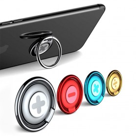 Baseus Symbolirengas matkapuhelimen pidike, sormusormus, selfie