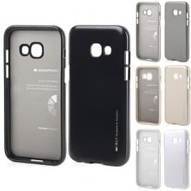 Jelly Metallissa oleva Mercury on Samsung Galaxy A3 2017 SM-A320F silikonikuori