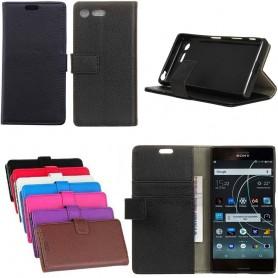 Kannettava lompakko 2 -kortti Sony Xperia XZ1 G8341 -kotelo matkapuhelinkotelo