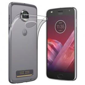 Motorola Moto Z2 Play silikonikotelo, läpinäkyvä matkapuhelimen kansi