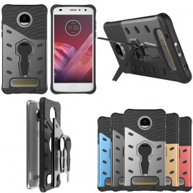 Sniper Case -kannen kansi jalustalla Motorola Moto Z2 Play XT1710 caseonline