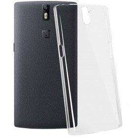 OnePlus One läpinäkyvä kovakuori mobiili kuori -kotelo