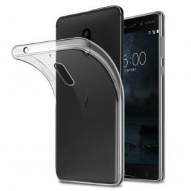 Nokia 8 silikoni läpinäkyvä matkapuhelimen kuori tpu