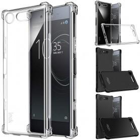 IMAK iskunkestävä silikonikotelo Sony Xperia XZ1 (G8341)-matkapuhelimen kuorelle