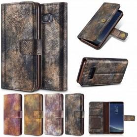 Kannettava lompakkometsä Vintage Samsung Galaxy Note 8-matkapuhelinlaukku