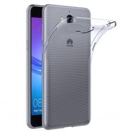 Huawei Y7 2017 TRT-LX1 silikonikotelo, läpinäkyvä matkapuhelinsuoja, TPU
