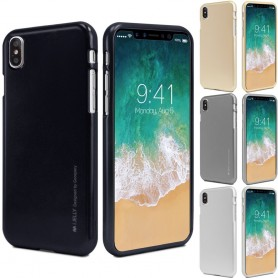 Mercury Jelly Metal Apple iPhone X iPhone silikoni-tpu iPhone