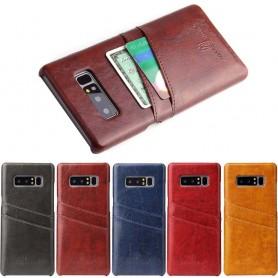 Retrokuori korttipaikoilla Samsung Galaxy Note 8 matkapuhelimen kotelo