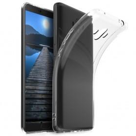 Huawei Mate 10 Pro -silikonikotelo, läpinäkyvä kannettava kuori