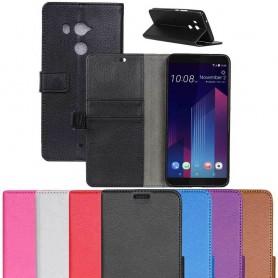 Kannettava lompakko 2-kortin HTC U11 PLUS matkapuhelimen kotelo