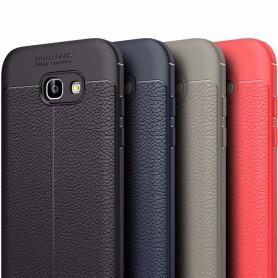 Nahkakuvioitu TPU-suoja Samsung Galaxy A3 2017 Galaxy suoja