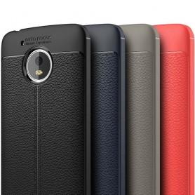 Nahkakuvioitu TPU-kuori Motorola Moto G5 matkapuhelinlaukku