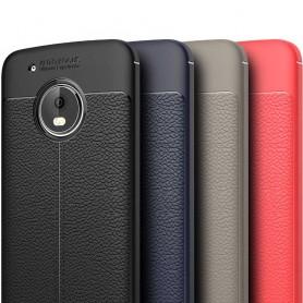 Nahkakuvioitu TPU-kuori Motorola Moto G5 Plus matkapuhelimen kotelo