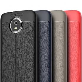 Nahkakuvioitu TPU-suojus Motorola Moto G5: n matkapuhelimen kansi