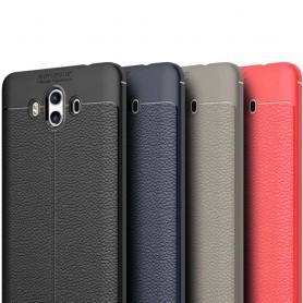 Nahkakuvioitu TPU-kuori Huawei Mate 10 -puhelimen silikoni