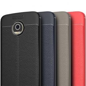 Nahkakuvioitu TPU-kuori Motorola Moto Z2 Play