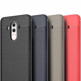 Nahkakuvioitu TPU-suoja Huawei Mate 10 PRO -kannettava