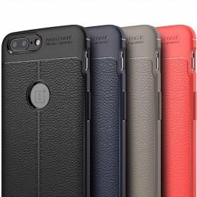 Nahkakuvioitu TPU-kuori OnePlus 5T -puhelinsuoja
