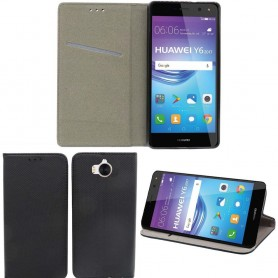 Moozy Smart Magnet FlipCase Huawei Y6 2017 -puhelimen kuori