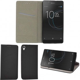 Moozy Smart Magnet FlipCase Sony Xperia L1 -kotelo