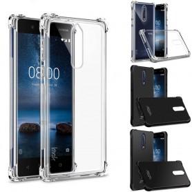 IMAK Shockproof silikoni kuori 8 Nokia kuori iskunkestävä