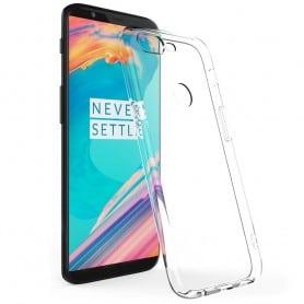 OnePlus 5T -silikonikotelo, läpinäkyvä kannettava kuori