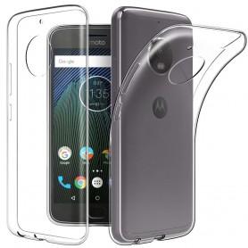 Motorola Moto G5S silikonikotelo, läpinäkyvä kannettava kuori
