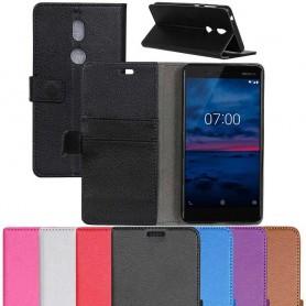Kannettava lompakko 2 -kortti Nokia 7 -laatikotelo