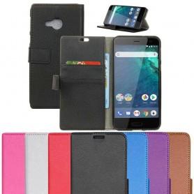 Kannettava lompakko 2-kortti HTC U11 Life -kannettava suoja