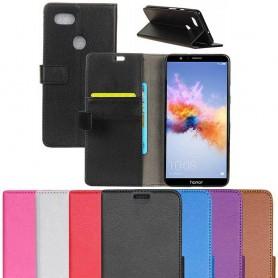 Kannettava lompakko 2-kortti Huawei Honor 7X BND-L21 kannettava suojakotelo