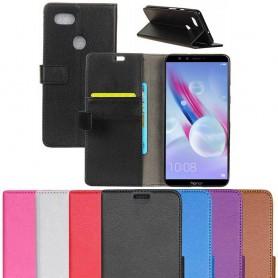 Kannettava lompakko 2-kortti Huawei Honor 9 Lite LLD-AL10 matkapuhelinlaukku