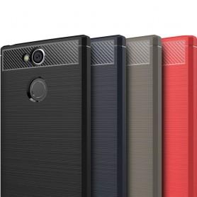 Harjattu silikoni TPU-kuori Sony Xperia XA2 H4133 matkapuhelin