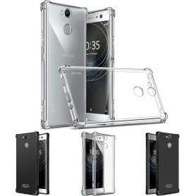IMAK Shockproof silikonikotelo Sony Xperia XA2 H4133 matkapuhelimen kuorelle