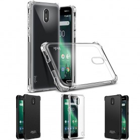 IMAK Shockproof silikonikotelo Nokia 2 matkapuhelimen kotelo