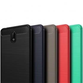 Harjattu silikoni TPU-kuori Nokia 2 -puhelimen silikonikuori-suoja