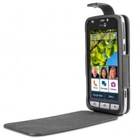 Doro Liberto 820 FlipCover - Musta matkapuhelimen kotelo