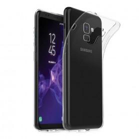 Samsung Galaxy S9 silikonikotelo, läpinäkyvä kannettava kuori
