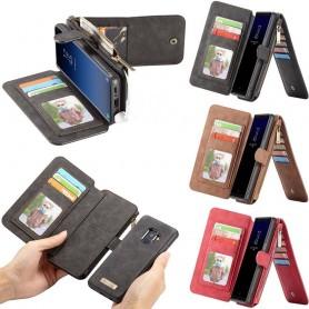 CaseMe Wallet 14 -kortti Samsung Galaxy S9 SM-G960F Matkapuhelin CaseOnline.se