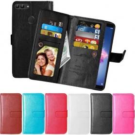 Siirrettävä lompakko Kaksinkertainen läppä Flexi Huawei Honor 9 Lite -laukku