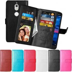 Kannettava kansi Kaksinkertainen läppä Flexi Nokia 7 -kokoelma