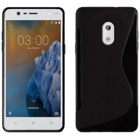 S Line -silikonikotelo Nokia 3: lle