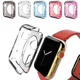 Apple Watch 38mm silikoni-kuori -väriset suojaustarvikkeet CaseOnline.se