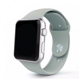 Apple Watch 42mm Sportband-tummanharmaa