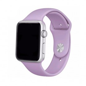 Apple Watch 42mm Sportband - vaalean violetti