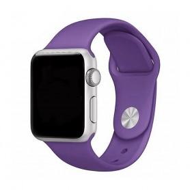 Apple Watch -rannekoru 38mm Sportband-Purple