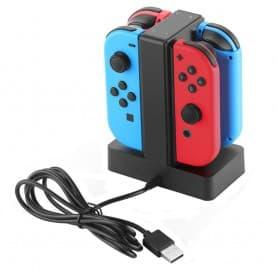 4 Joy -Conin latausasema ohjaa Nintendo Switch -laturia