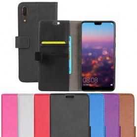 Kannettava lompakko 2-kortti Huawei P20 kannettava suojakotelo