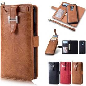 Multi Wallet 3i1 9 -korttiinen Samsung Galaxy S9 Plus -kotelo