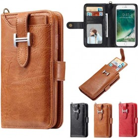 Multi Wallet 3i1 9 -kortti Apple iPhone 6, 6S -kannettava kansi