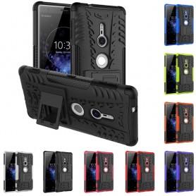 Iskunkestävä Sony Xperia XZ2 -suojakuori 2i1